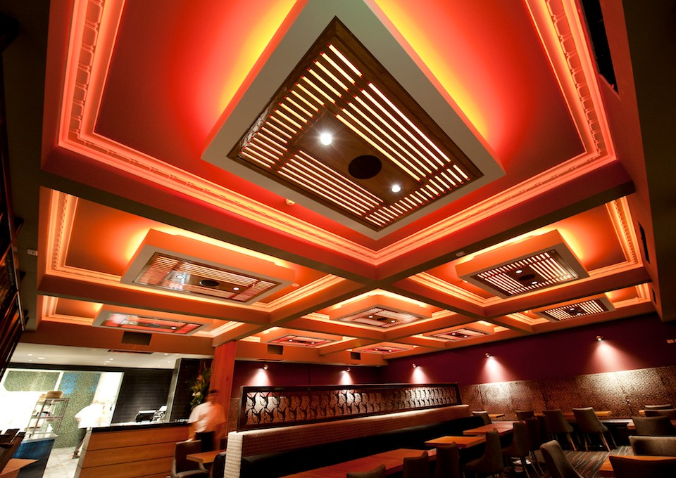 The Empire Bar - Bistro – Light and Stepped Ceiling, Rivervale