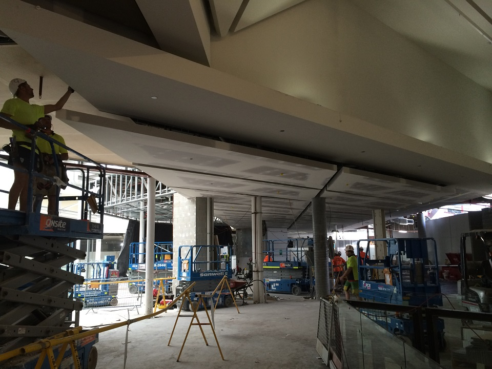 Food Terrace - Level 1 - During Construction