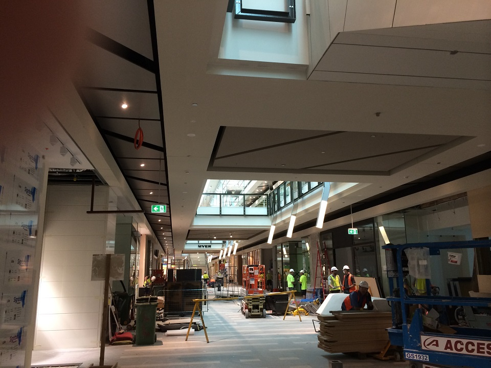 Fashion Mall - Ground Floor - During Construction