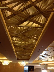Plasterboard Bulkheads and Architectural Design Fin Ceiling