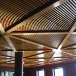 Wine Bar - Timber Slat Ceiling