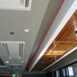 Front Bar – Timber, Plasterboard Ceilings & Feature Light Bulkhead