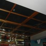 Garden Bar – Metal Mesh and Timber Ceiling