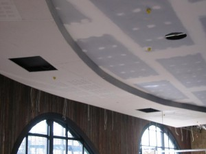 Plasterboard Curved Bulkheads and Ceilings - The Merrywell